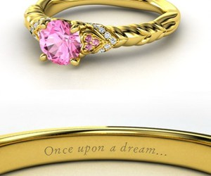 ring, disney, and pink image