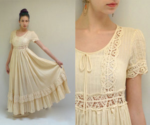 etsy, wedding gown, and short sleeves image