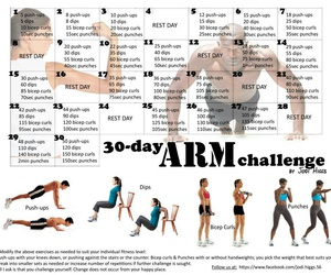 workout, fitness, and arm image