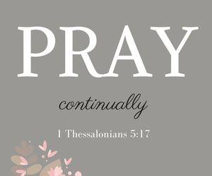 christian, god, and pray image