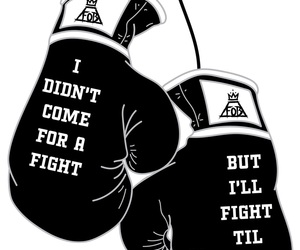 boxing, fall out boy, and FOB image