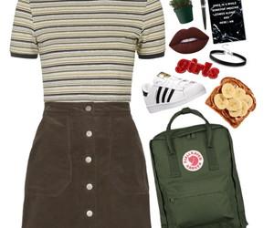 backpack, school, and fjallraven kanken image