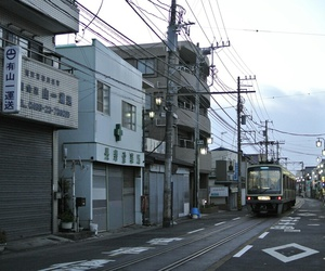 street, japan, and city image
