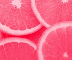 pink, fruit, and orange image
