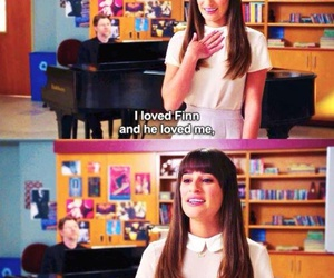 cory monteith, lea michele, and love image