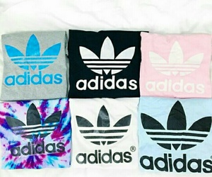 adidas, fashion, and shirt image