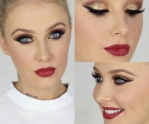makeup, lauren curtis, and eyeliner image
