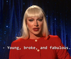 young, fabulous, and broke image