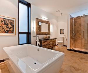interior, bathroom, and canada image