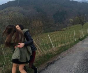 friendship, girls, and hug image