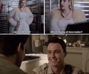 teen wolf, scream queens, and parrish image