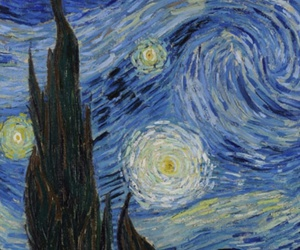 art, painting, and vincent van gogh image