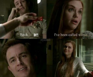 bitch, funny, and teen wolf image