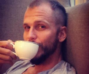 vikings, cup, and gustaf skarsgård image