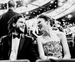 beautiful, jon snow, and rose leslie image