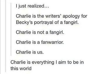 supernatural, fangirls, and charlie bradbury image