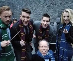 harry potter, hogwarts, and luna image