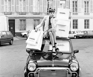 chanel, shopping, and vintage image