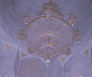 chandelier and pale image