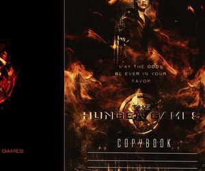 cover and the hunger games image