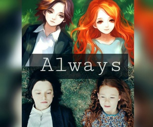 always, anime, and harry potter image