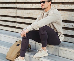 men, outfit, and sandro image