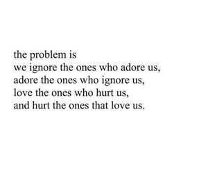 quote, problem, and sad image
