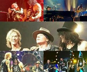 axl rose, duff mckagan, and Guns N Roses image