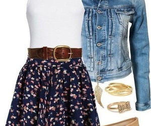 bracelets, look, and outfit image