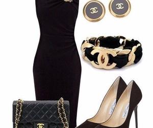 chanel, fashion, and dress image