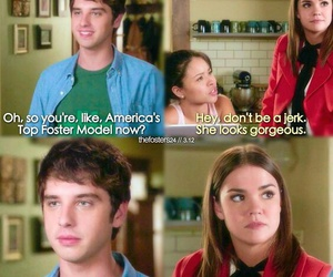 sad, the fosters, and brallie image
