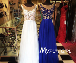 illusion, prom dress, and cap sleeves image