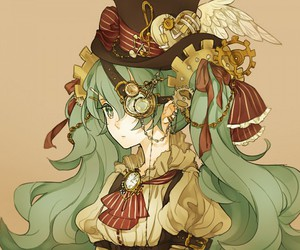vocaloid, anime girl, and anime image