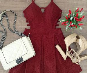 dress, fashion, and chic image