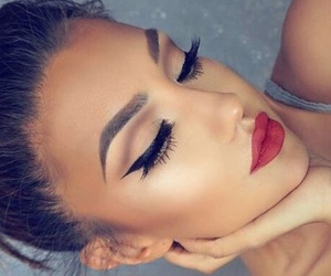 beauty, make up, and style image