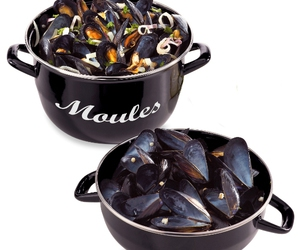 food, mussels, and seafood image