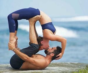 fitness, kiss, and yoga image