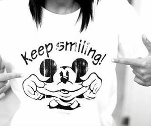 smile and mickey image