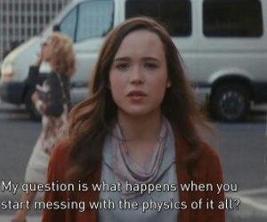 ellen page, inception, and movie lines image
