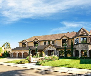 dream home, mansion, and big houses image