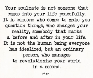soulmate, quotes, and love image