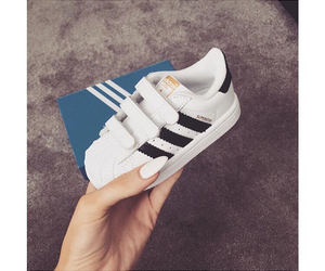 baby, shoes, and adidas image