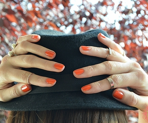 fashion blog, hat, and nail image