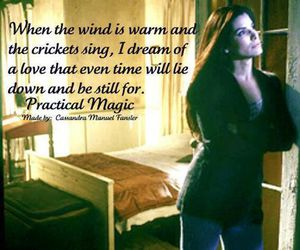 Practical Magic and sandra bullock image