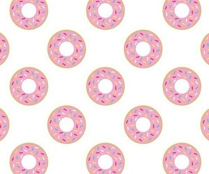 colorfull, donuts, and pink image