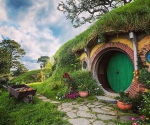 hobbit, house, and home image