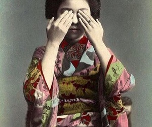 japanese, 着物, and kimono image