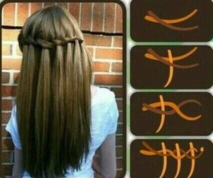 blond, braid, and chestnut image