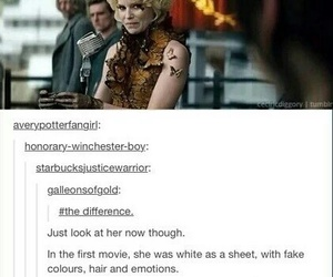 books, effie, and hunger games image