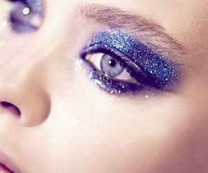 glitter, eyes, and make up image